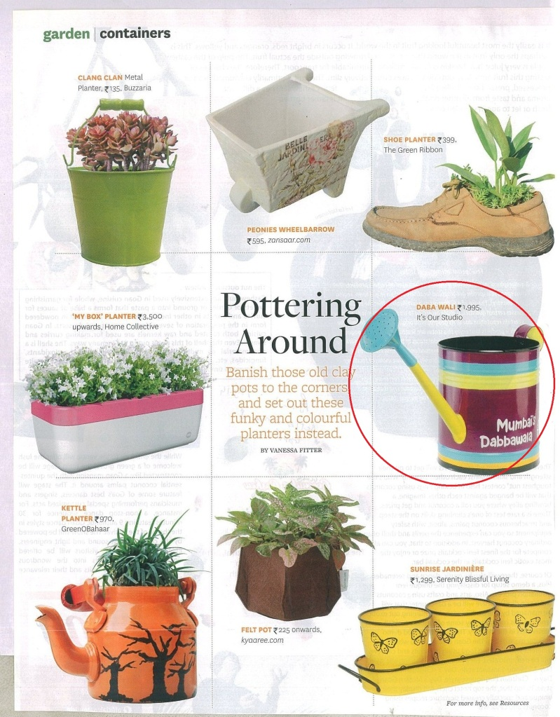In Better Home & Garden Magazine