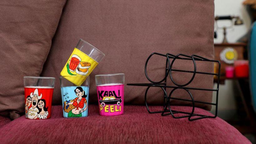 Cutting Chai Glasses