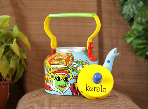 Painted kettle
