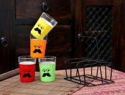 funky tea set