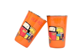 Steel Tumbler Big- Auto Orange