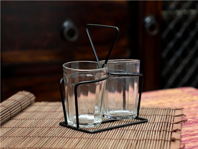 Cutting Chai Glasses - Clear Glasses