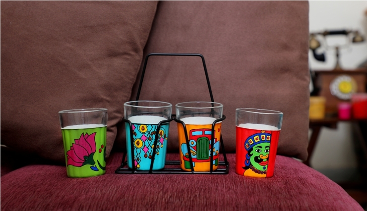 Tapri Glasses - Multicolor