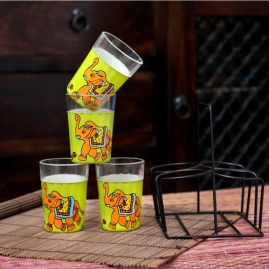 Tapri Glasses - Chotu Hathi (Set of 4)