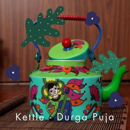 Steel Kettle - Durga Puja
